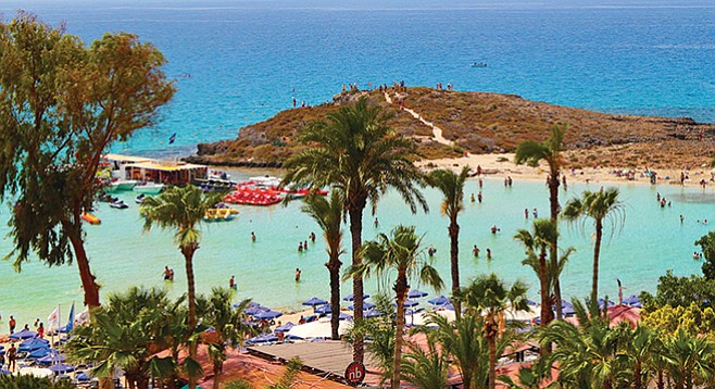 The public may learn how oodles of money is stashed in offshore tax and secrecy havens (image: Nissi Beach, Ayia Napa, Cyprus)