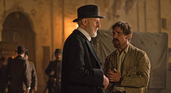 The Promise: (Not enough) James Cromwell and Christian Bale
