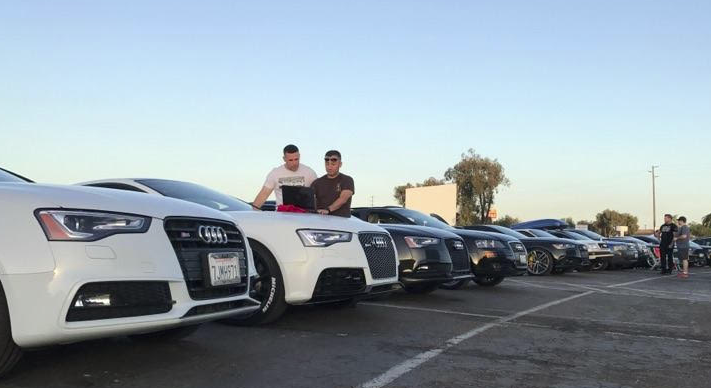 San Diego Audi >> San Diego Mopar Group Swarms The Fate Of The Furious At The
