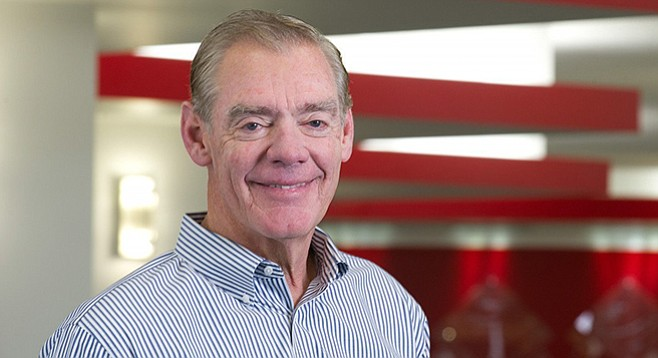After getting rich in his post–city hall career, McGrory has given more than $3 million to SDSU.