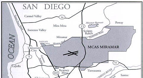 """Folks along Genessee and around the 805 will get more noise than Mira Mesa."""