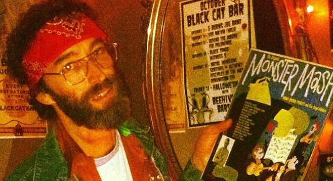 Matt Parker's Black Cat Bar recently got licensed for liquor.