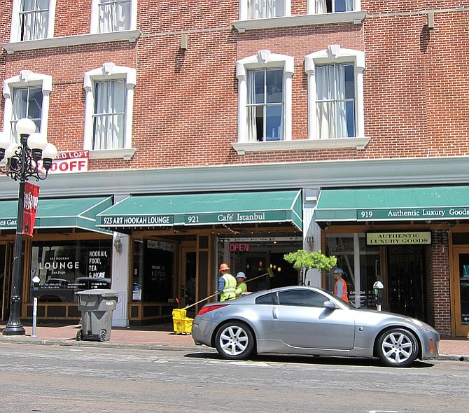 On April 26, Kelley will be testing the waters to oppose downtown's Art Hookah Lounge from acquiring a liquor license.