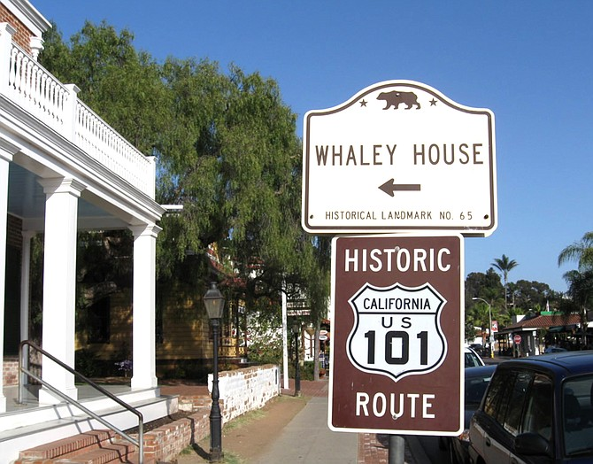 Old Town has a sign but they are much more popular in Northern San Diego.
