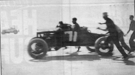 It was the eighth of January, 1939, and there were 2000 people gathered for the time trials. The first cop to show up on the scene was coming from the Poway side.