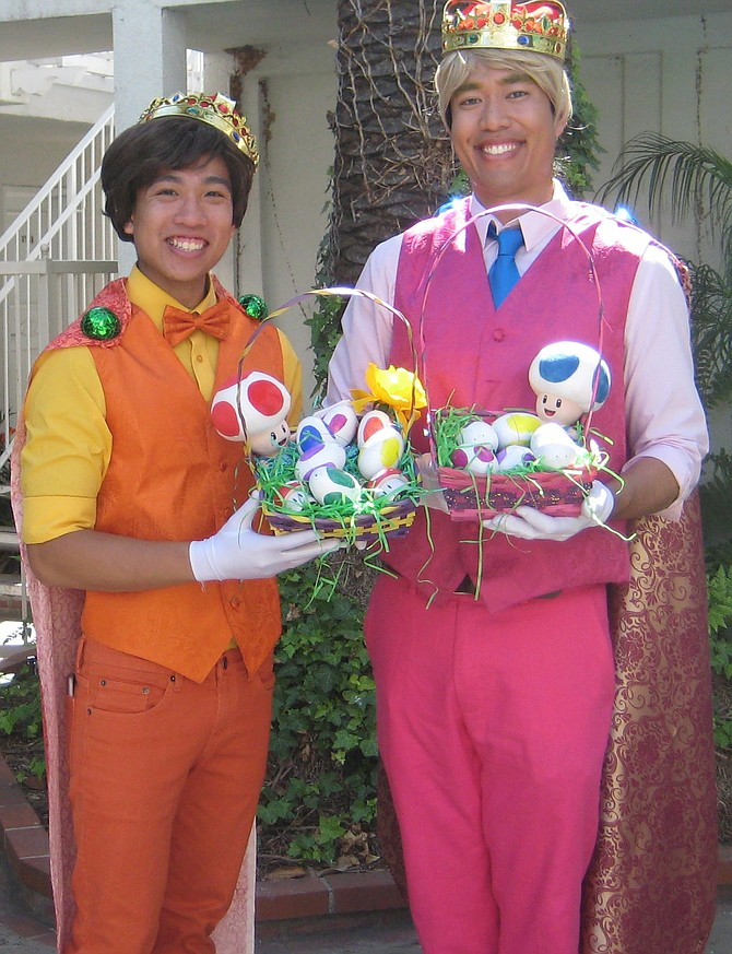 Princess Peach and Prince Daisy from Mario