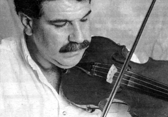 "Ken Jerahian: ""String players develop all kinds of problems with their shoulders."""