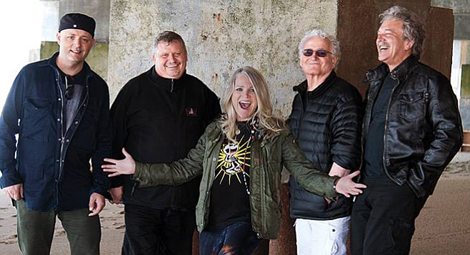 Jefferson Starship lands at Belly Up on May 25