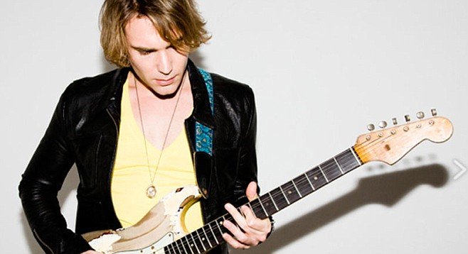 Philip Sayce headlines the Julian Blues Bash at Menghini Winery