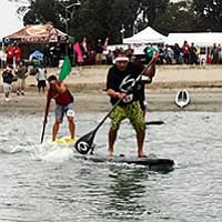 Hawaiian culture meets SUP at the Shaka Fest