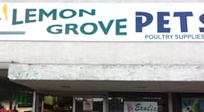 "Lemon Grove Pets (from Yelp). ""Some minor issues were noted, which the owner dealt with immediately."""