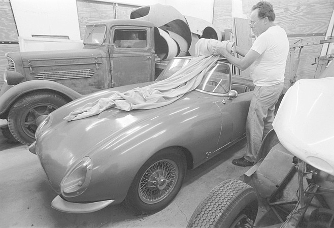 "Fred Puhn with a Santee: ""At Del Mar they're coming out on the straightaway, and he pulls out and accelerates to pass, and pop !— the acceleration threw all the oil away from the oil pump and it blew up."""