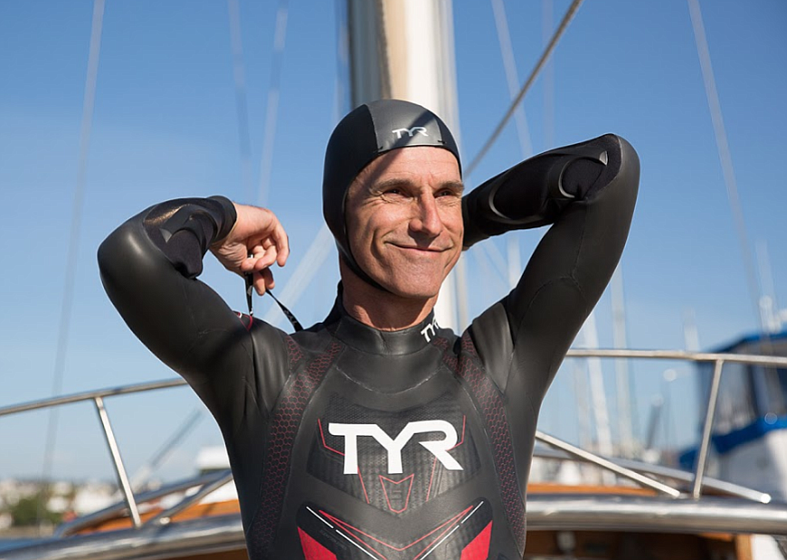 If he completes the swim, Lecomte will be the first person to swim across the Pacific.