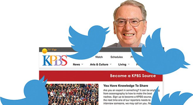 "What does KPBS philanthropist Irwin Jacobs have to say about the station's decision to eliminate website comments? Perhaps ""no comment."""