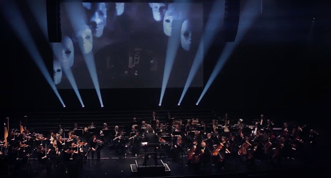 Philharmonia Orchestra of New York concerts combine classical masterworks with cinematic images and theatrical lighting effects. Will it win them the seemingly unattainable prize —young audiences?