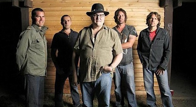 Three of the five founding members of Blues Traveler will perform. (Is one of them John Popper?)