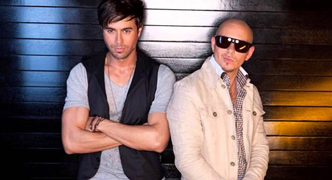 "Who has over 1.9 billion YouTube views for ""Bailando""? This guy (Enrique Iglesias, on the left)."