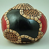 Show off your basket-weaving and decorative gourd skills. You know you want to.