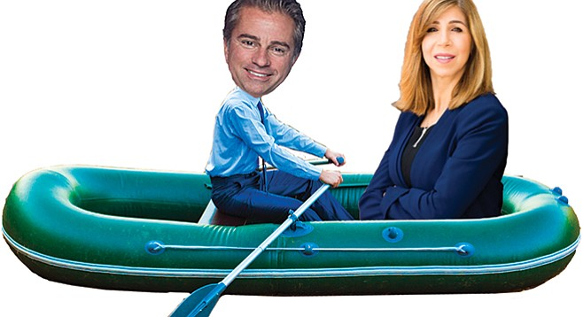 "Summer Stephan is all in with political consultant Jason Roe (aka mayor ""Kevin Faulconer's brain"")"