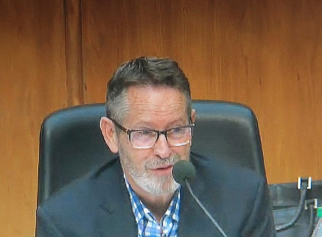 """Commissioner Doug Austin: """"I'm not buying it.... I don't understand the outcry now."""""""