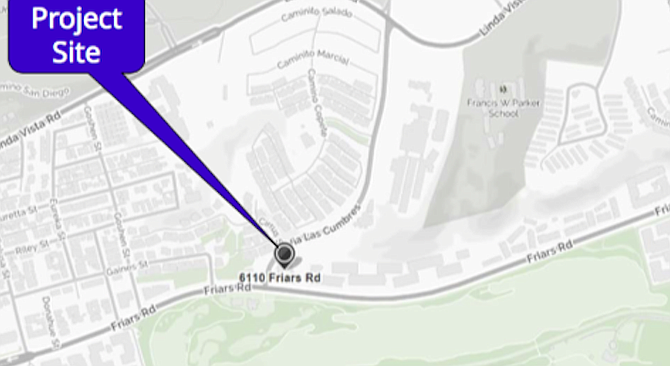 """""""Any development on the north side of Friars dramatically affects Mission Valley."""""""