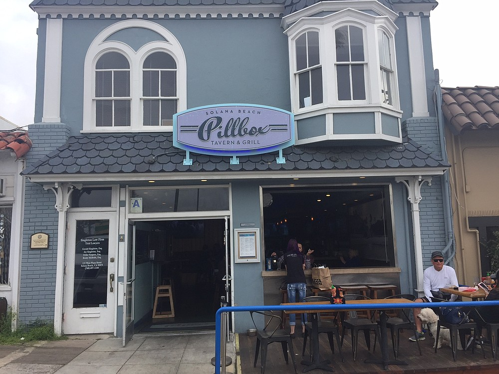 The Pillbox Tavern & Grill Solana Beach is family-friendly, but it's definitely a bar.