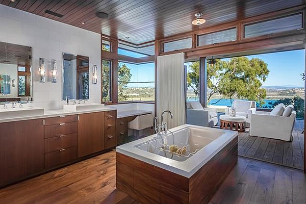 Includes two guest baths