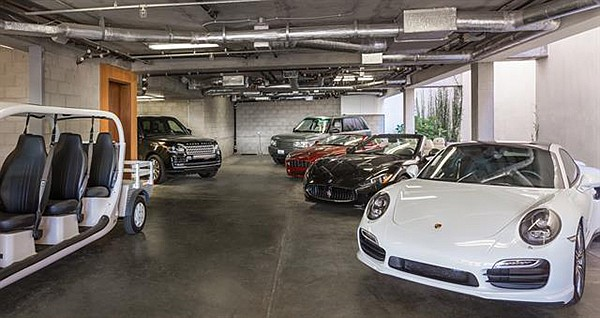 A garage for your ten favorite cars