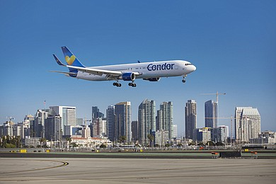 Condor will reduce flights from three to two a week over the winter starting in November.