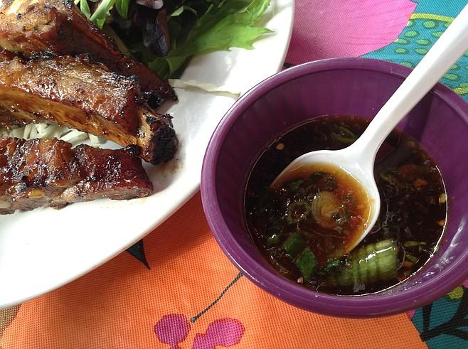 Chamorro-style finadene sauce: heat, but mostly flavor