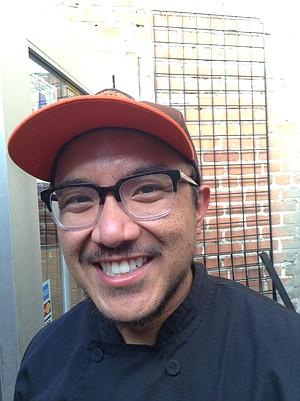 "The chef, Ronnel: ""Kelaguen is very Chamorran."""