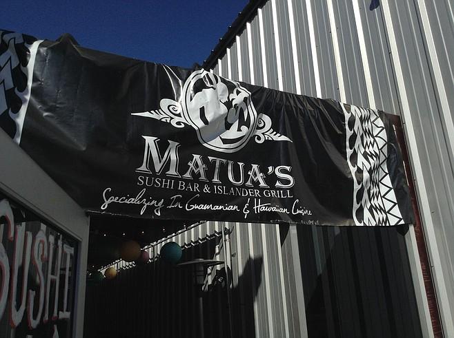 Matua's has shifted up from Chula Vista.