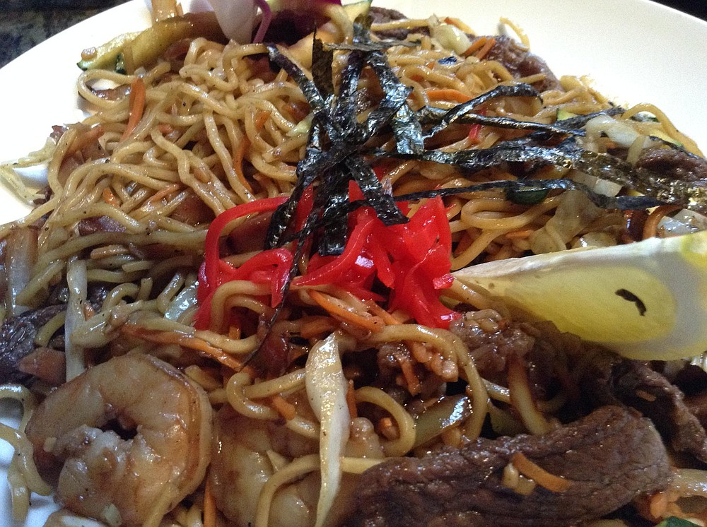 Yakisoba. Seems like Japanese is the strongest gastro-tide running.