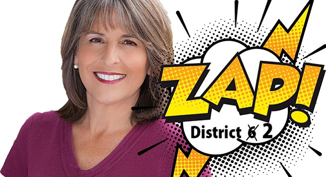 The unique nature of Lorie Zapf's council tenure enables her to run for a third term.