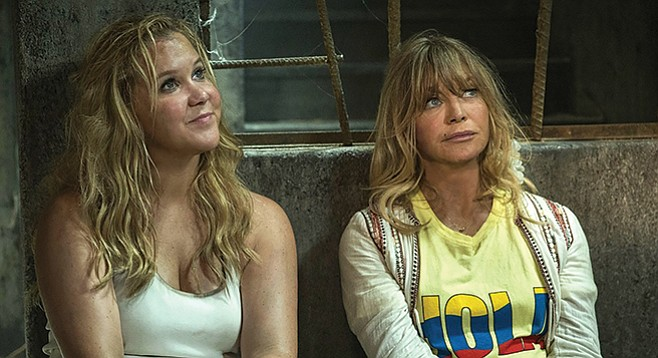 Snatched: Amy Schumer and Goldie Hawn take their mother-daughter act on the road.