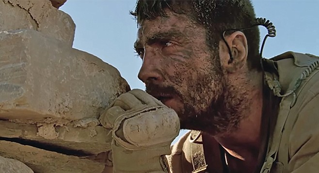 The Wall: Psychological warfare in the desert between a sniper and his target.