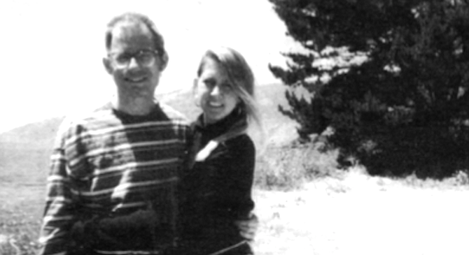 Big Sur, 1995. I met my current life companion, Cindy Lee Berryhill, at a Dylan concert in 1992.