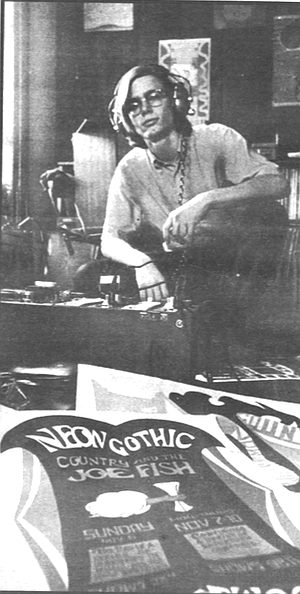 Crawdaddy office, 1967. I thought I'd call it Crawdaddy! after the club in London where the Rolling Stones and the Yardbirds got their start.