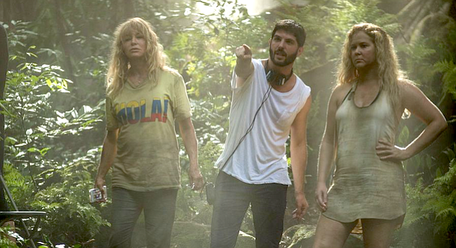 Jonathan Levine directs Goldie Hawn and Amy Schumer in Snatched.