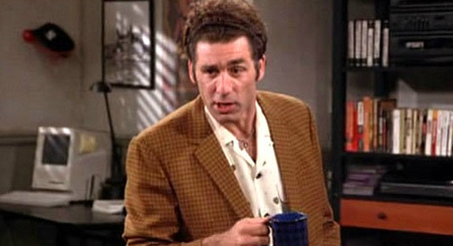 Seinfeld writers just invented the term so they had something to call Kramer!