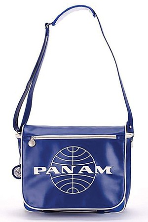 Brookstone Pan Am Messenger Bag. Only Baby Boomers will get the joke.