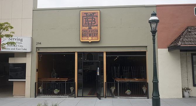 Chula Vista Brewery's first, but another will open on Third Avenue soon.