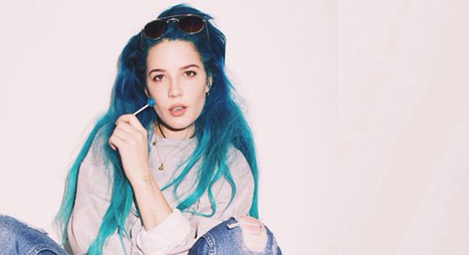 "It's ""Now or Never"" for Halsey at Viejas Arena"