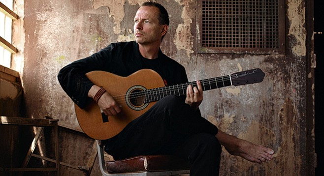 Ottmar Liebert will wake up the Music Box. Or put it to sleep.