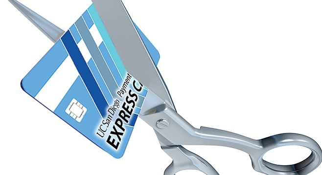 Flaky reimbursement reporting at UCSD has led to a crackdown on the issuance of Express Cards.