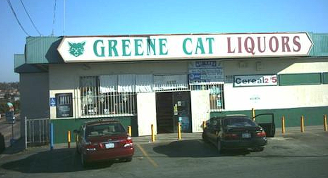 """The Greene Cat at Euclid and Imperial was so sketchy that people think a 7-Eleven could be an improvement."""