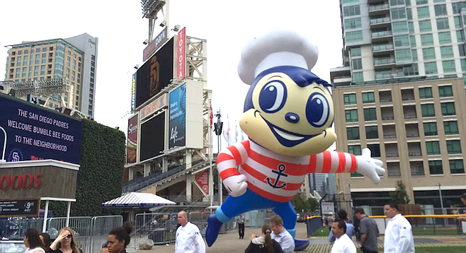 Opening of Bumble Bee Tuna headquarters next to Petco Park in 2014