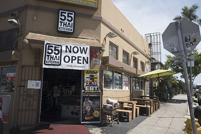 The vegetables are where 55 Thai Kitchen deviates from the norm.