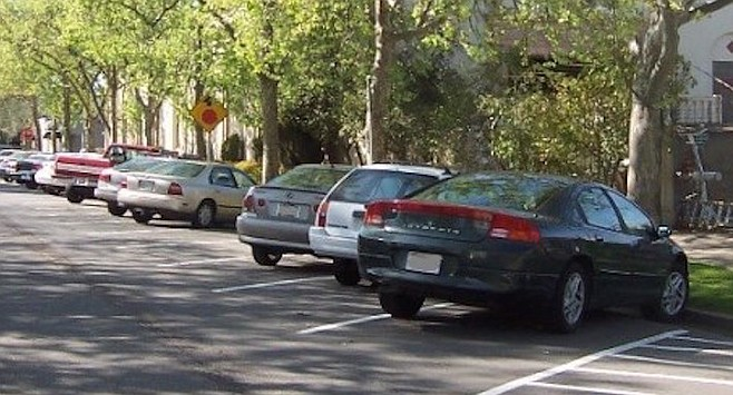 North Park residents have been asking the city to convert streets to angle parking for several years.