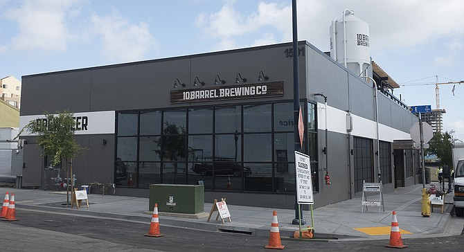 10 Barrel is like San Diego breweries in that it met unexpected delays that postponed its original opening date.